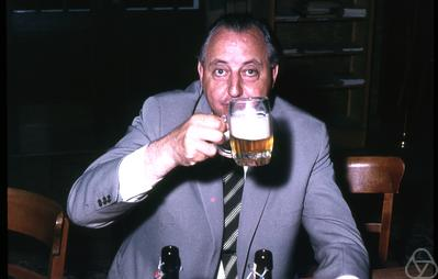 Hadwiger, with beer