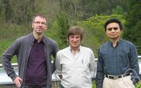 David Pettifor, Weinan E, Gero Friesecke
