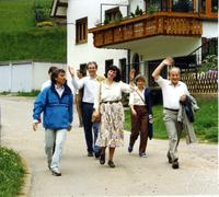Ivo Schneider, unknown person, Christa Binder, Hannelore Bernhardt, Robert Ineichen