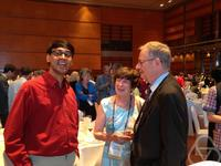Manjul Bhargava, Mrs Griffiths, Phillip A. Griffiths