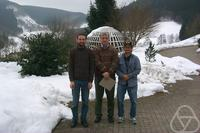 Alan Rendall, Gerhard Huisken, James Isenberg