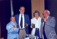 Eleanor Bade, William G. Bade, Dorothy Curtis, Phil Curtis